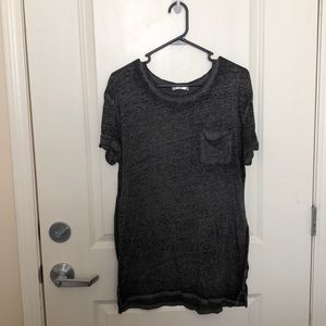 Awake Dark Grey T-shirt with Pocket